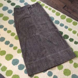 DKNY Soft Velour Skirt